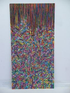 Melted Crayons and Wrappers by becksjb, via Flickr