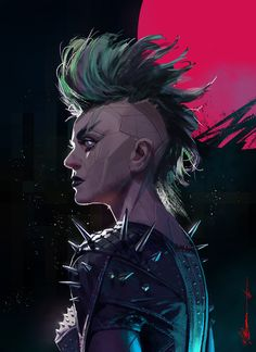 "ArtStation - ""Bionic Punk"", Michael Broussard"