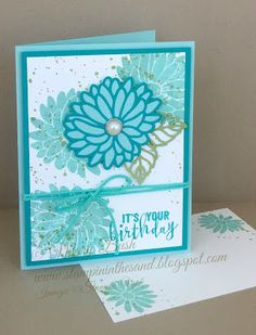 Stampin' in the Sand: Card: Special Reason stamp set . Stampin Up