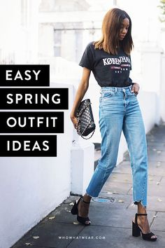 Spring is just around the corner—these are the outfit ideas we are loving.