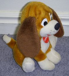Rare Disney Fox and the Hound 6 Inch Plush Copper Dog Doll Disney http://www.amazon.com/dp/B004BPXHLO/ref=cm_sw_r_pi_dp_TrV9vb1MSQ33T