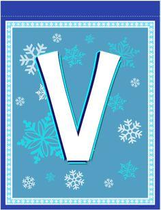 banner letter Banner Letters, Frozen Theme, Alphabet And Numbers, Disney Frozen, Party Themes, Christmas Crafts, Monogram, Clip Art, Symbols
