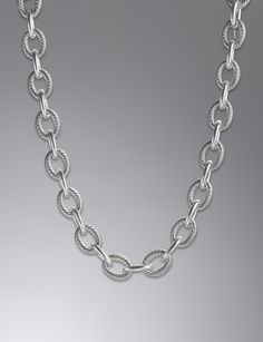 Extra Large Oval Link Chain Necklace