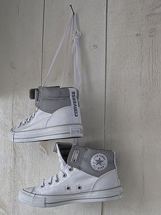 ● Le Style | LE STYLE STUDIO My Converse All Star Converse All Star, Converse Style, Converse Sneakers, Converse Chuck, Kinds Of Shoes, Baskets, Ankle Boots, Shoe Boots, Cute Shoes