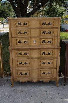 READY for CUSTOM ORDER French Provincial 6 drawer dresser by LMODesignGroup on Etsy