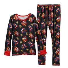 Camp Clothing - Cuddl Duds Toddler Boy Paw Patrol Thermal Long Underwear Base Layer * Be sure to check out this awesome product.
