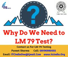 Why Do We Need to LM 79 Test? « Electrical Safety Testing Lab