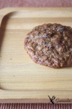 Gourmandise Biscoitos sem gluten de teff e aveia em flocos