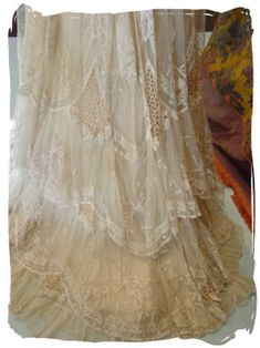Mademoiselle Rose: Another Antique Gown in my collection...