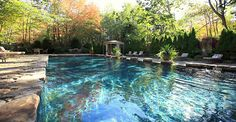 The pool at Kennebunkport Maine Hotels & Lodging | The White Barn Inn