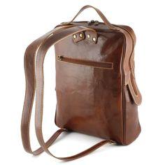 Leren Rugtas Pianosa Bruin #bag #bags #leatherbag #leatherbags #officebag #businessbag #briefcase #aktetas #tas #lerentas #backpack #rugtas > www.marington.nl $233.00 / €179.95