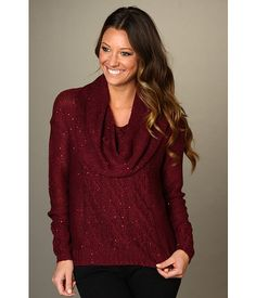 kensie Cowl Neck Sweater