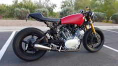 1982 Yamaha Virago XV920 Cafe Racer