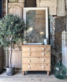 Pretty Victorian Pine Chest Of Drawers photo 1 Pine Furniture, Vintage Furniture, White Chest Of Drawers, Pine Chests, Dresser, Victorian, Decorating, The Originals, Storage