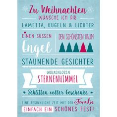 Zu Weihnachten wünsche ich dir - New Ideas Diy Christmas Cards, Christmas Quotes, Christmas Time, Holiday, Nouvel An, Word Of The Day, New Years Eve, Diy Cards, Hand Lettering