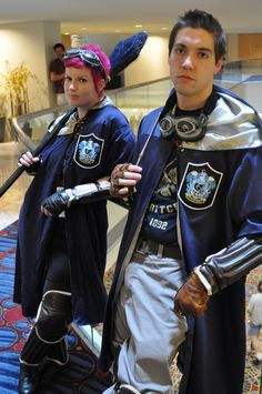 Yup. Ravenclaw quidditch team. Via NudityandNerdery.tumblr.com