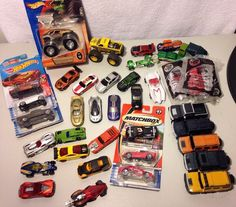 Hot Wheels Lot of 38 Ferrari Happy Meal Speed Racer Dale Earnhardt IROC & More!! #HotWheels