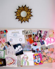 DIY Pinboard for girl's room