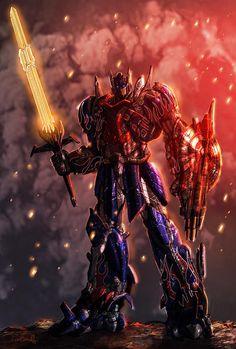 Optimus Prime Age of Extinction style  Created by Livio Ramondelli