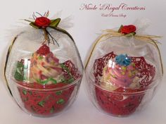 cupcake soap soap cupcakes cold process by NicoleRoyalCreations