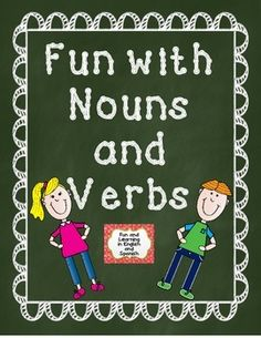 If you are teaching about nouns, verbs, or complete sentences...this is perfect for you! I have used this packet year after year. The kids seem to enjoy learning about nouns and verbs with these resources, especially once I introduce our friends Nick Noun and Vivian Verb (posters included!) Learning about nouns and verbs is so much fun!