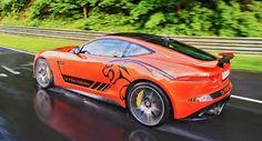 Jaguar Angebote F-Typ SVR Passagierfahrten auf der 'Ring