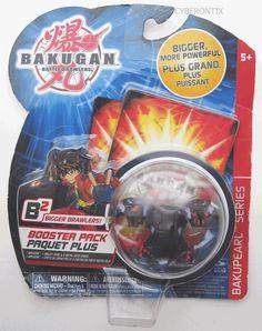 Bakugan DUAL HYDRANOID Black Darkus B2 NEW Booster Pack Battle Brawler 2009 MOSC #SpinMaster #Bakugan #Hydranoid #Cyberontix