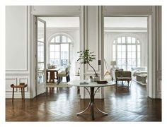 """How to create a calming and elegant space according to Zara Home: What was the inspiration for the new Zara Home collection? """"A flat with white walls, wood floors and voluminous ceilings. The light filtering in through the windows creating brilliant reflections on the white surfaces."""""""
