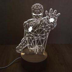 Iron Man 3D Lamp 1.0