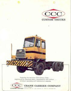 1974 CCC Crane Carrier Century Truck