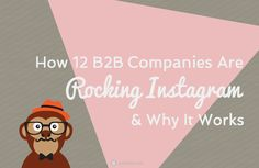 How 12 B2B Companies Are Rocking Instagram & Why It Works by @undullify Marketing Tools, Content Marketing, Social Media Marketing, Digital Marketing, Instagram Marketing Tips, Business Company, Digital Strategy, Social Media Tips, Storytelling