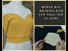 Với phương pháp thiết kế và may thông thường, chiếc đầm cúp ngực xếp ly sườn sẽ khó có thể tạo khối và đẹp như mong muốn. Vì thế ở video này mình hướng dẫn c... Corset Sewing Pattern, Sewing Paterns, Dress Sewing Patterns, Draping Techniques, Sewing Techniques, Pattern Drafting Tutorials, Sewing Tutorials, Origami Dress, How To Make Skirt