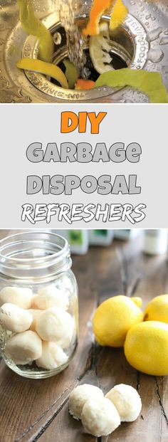 DIY garbage disposal refreshers - Cleaning Tips