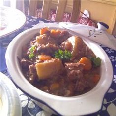 Slow Cooker Beef Stew IV Allrecipes.com