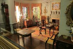 Small Talk: New Americana Thorne Room Temporarily on Loan to the Art Institute of Chicago