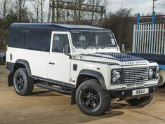 Full Length Panoramic Tinted Windows for Land Rover Defender 110 Hardtop