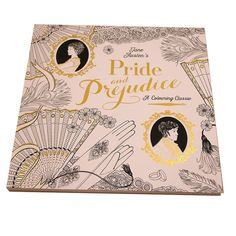 Pride and Prejudice 'A Colouring Classic' - Jane Austen Colouring Book Paperback Online Shop Worldwide Shipping | Arts…