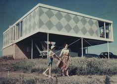 Robin Boyd - Marriott House, Flinders, Victoria, Australia. 1954.