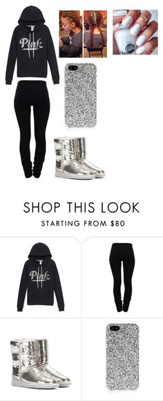 """"""""""" by lexiswagg on Polyvore featuring Helmut Lang, UGG Australia and Yves Saint Laurent"""