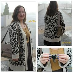 Look 06 - Au Fil d'Isa: Leopard in the mist