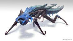 Cron'Lychma - Creature Design, Nicholas Cloister on ArtStation at http://www.artstation.com/artwork/cron-lychma-creature-design
