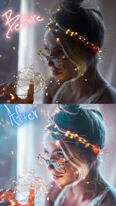 brandon woelfel before and after Creative Portrait Photography, Photography Poses Women, Photography Lessons, Photography Editing, Girl Photography, Digital Photography, Fairy Light Photography, Photoshop, Lightroom