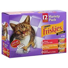 Friskies Purina Meaty Bits Cat Food Variety Pack 412 lb *** You can get more details by clicking on the image.(This is an Amazon affiliate link)