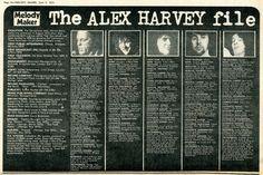 Alex Harvey, Close Shave, Glasgow, Musicals, Fan, Business, Store, Hand Fan, Business Illustration
