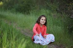 child photography, Spring, ©Misty Exnicios