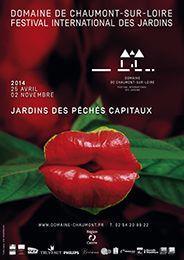 Affiche du Centre d'arts et de Nature du Domaine de Chaumont sur Loire