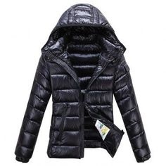 2ca74f349fed Moncler Jacket Women Black jacketsdeal.co.uk... Outlet Uk