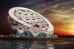 The Oyster in Abu Dhabi by BRT Architekten