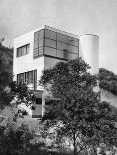 József Fischer: Family house, Szépvölgyi út 88b, Budapest, Hungary, 1935