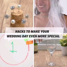 Hacks to Make your Wedding Day even more Special! - - Hacks to Make your Wedding Day even more Special! Our Wedding, Dream Wedding, Craft Projects, Projects To Try, Beauty Tips For Women, Wooden Gift Boxes, Marrying My Best Friend, Diy Hair Accessories, Diy Crafts For Kids